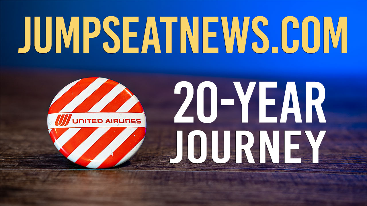 Jumpseatnews: A 20-year journey